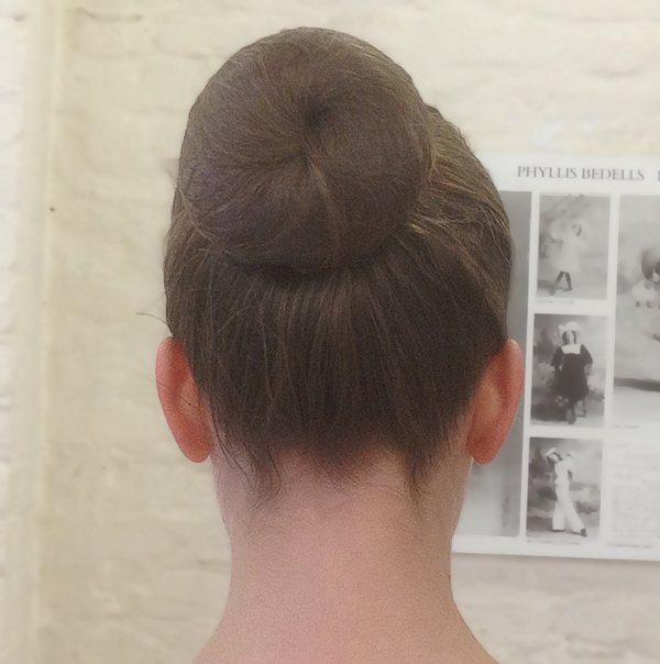 bun hair for examinations just ask a teacher or friend to find out how to tie it this way
