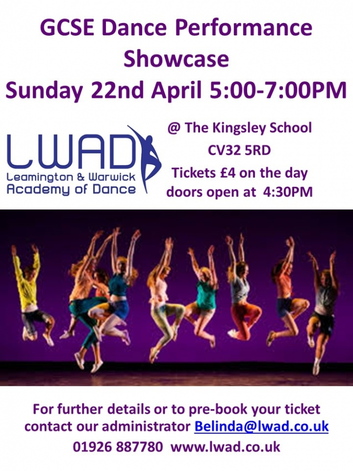 GCSE Dance Performance Showcase